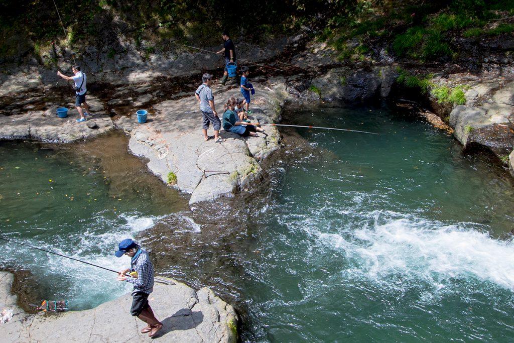 本郷滝自然つりセンター