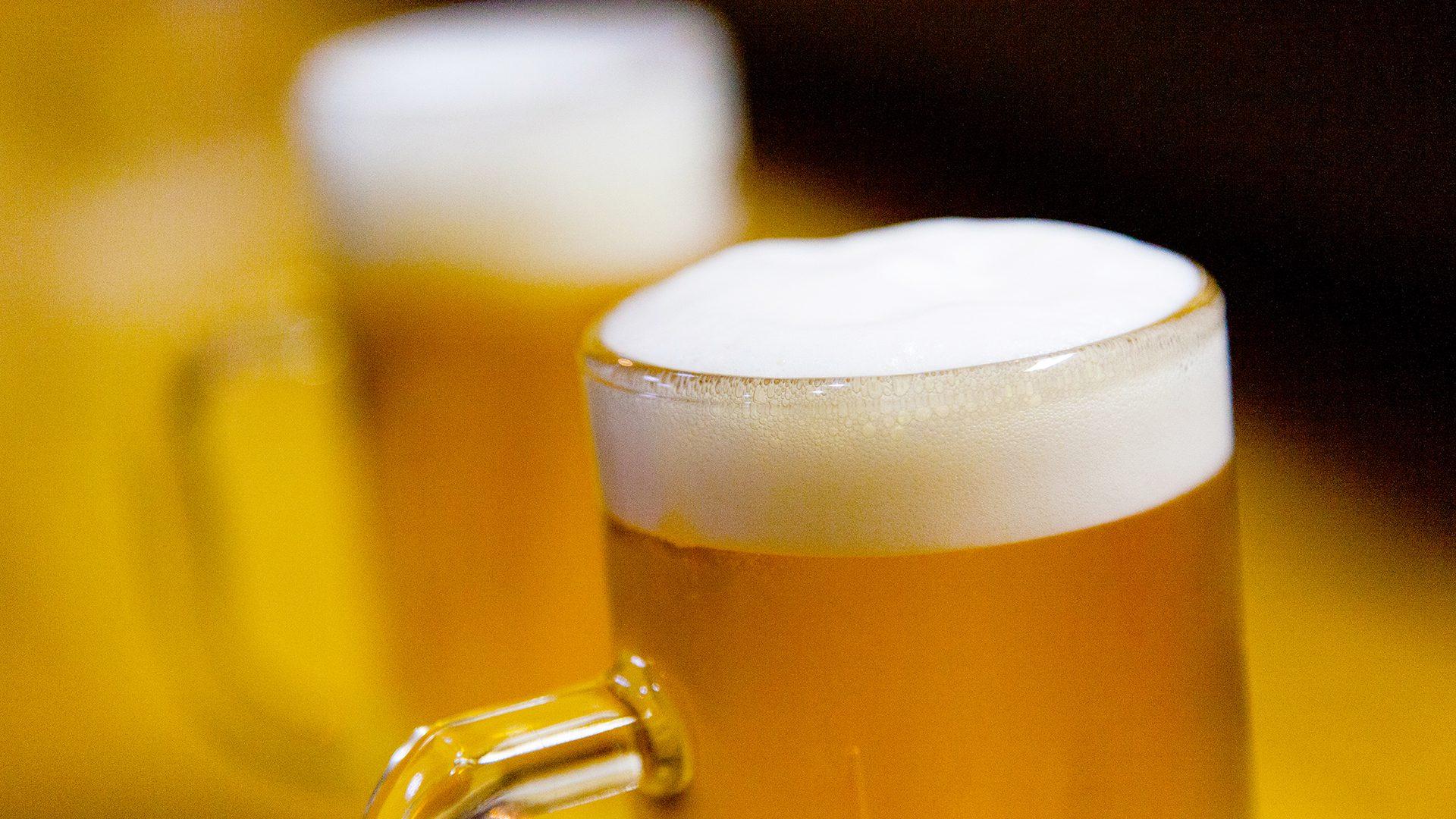 湯上りグビグビ~っと生ビール1名様1杯お付けいたします。